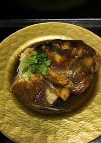 【簡単】鯛のあら炊き