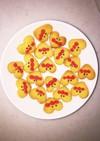 ハートのアンパンマンクッキー