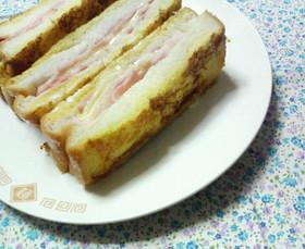 食パンの耳まで食べよう♡お手軽サンドパン
