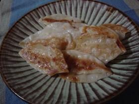 ヘルシーな豆腐ギョウザ