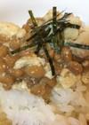 キッコーマン「すきやき肉豆腐」と納豆ご飯