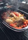 ローマ人の鍋で作ったロールキャベツ