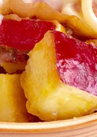 ☆お弁当に簡単☆さつまいもシュガーバター