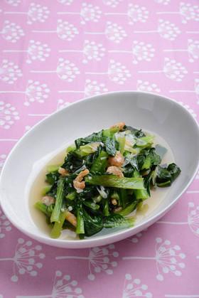 小松菜の炒め煮