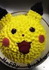ピカチュー ケーキ☆息子の誕生日に♡
