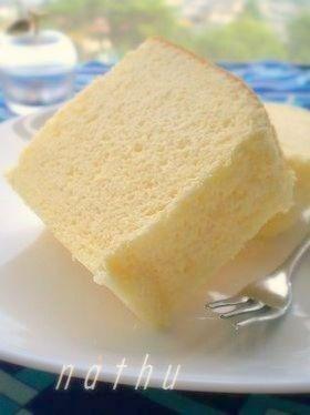 ノンオイル・ヨーグルトケーキ