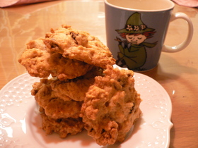 グラノーラで簡単ドロップクッキー