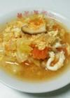 離乳食も使えるたっぷり野菜トマト卵スープ