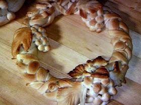 贈れる飾りパン