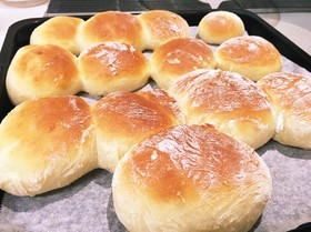 【子供喜ぶ】家にある物で作る簡単なパン2
