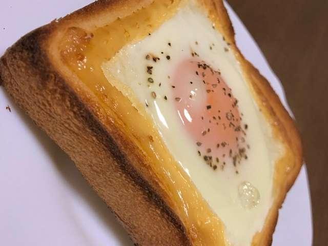 朝ごはんに!たまごマヨトースト