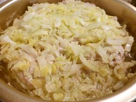 簡単★キャベツと白菜の重ね煮