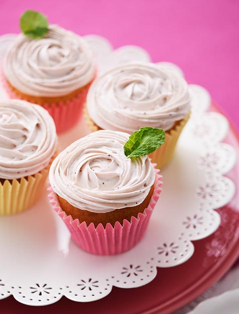 マリームでカーネーションカップケーキ
