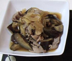 豚肉となすの美味しい味噌煮☆