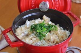 鍋炊飯☆鯛めし(土鍋やストウブで)