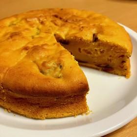 みんな大好き♪簡単かぼちゃケーキ。