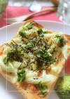 明太子×セロリの和トースト
