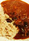 トマトジュース入り豆カレー減塩cal半分