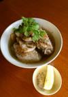 鶏肉とレンコンのスープ