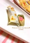 餃子の皮de魚肉ソーセージのしそチーズ☆