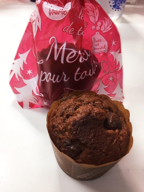 HMでチョコレートマフィン