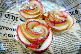 バラのアップルパイ