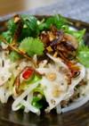 ひき肉と蓮ともやしのベトナムサラダ