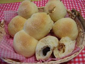 基本のパン生地で団子パン