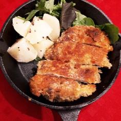 ご飯によく合う!牛肉のカツレツ