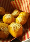 リメイク・カボチャの煮物のチーズボール