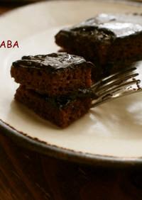 しっとり濃厚♪米粉のチョコケーキ