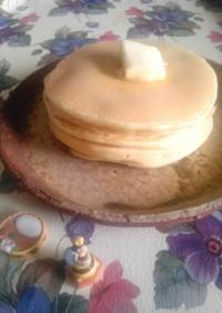 シンプル我が家のパンケーキ