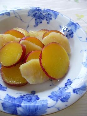 さつま芋とリンゴの煮物:レオン亭