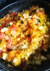 我が家のカボチャサラダ