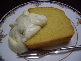 米粉で焼いたジンジャーケーキ