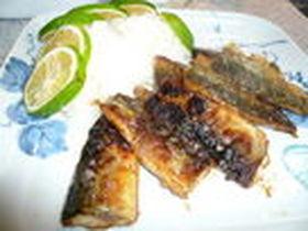 さんま料理(ハラワタを使った炒め煮)