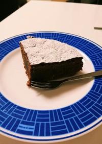 アーモンドチョコレートケーキ