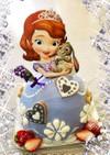 小さなプリンセスソフィア♡ドールケーキ