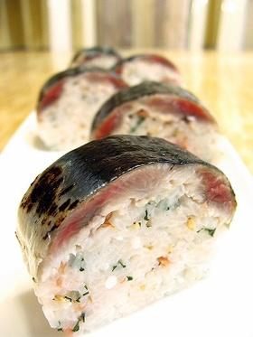 今が旬!焼きさんま寿司