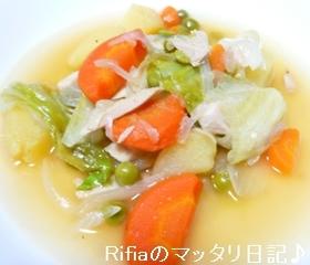 あま~いレタスがよく合う野菜のスープ煮☆