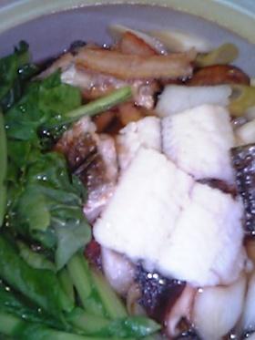 *秋味*家庭用ハモ鍋