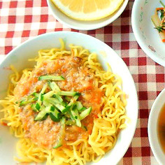給食で人気の「ジャージャー麺」