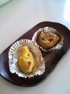 トースター&全卵卵液でスイートポテト