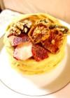 グルテンフリー♡大豆粉で簡単パンケーキ