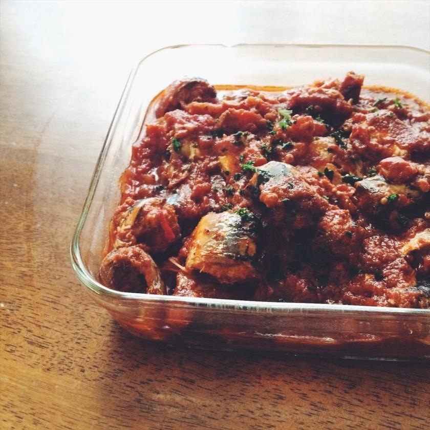 常備菜に!いわしのトマト煮