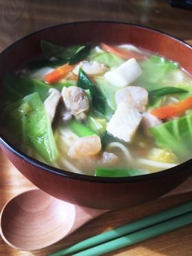 紀文 糖質0麺♡海鮮ちゃんぽん
