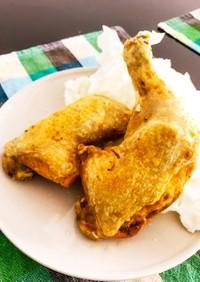 骨付き鶏の素揚げ in シンガポール
