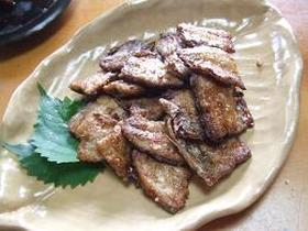 秋刀魚のこってり焼き。