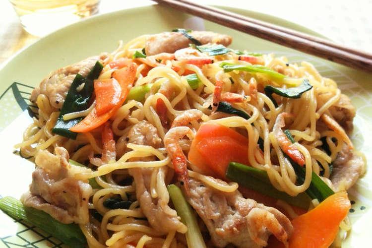 上海 焼きそば レシピ お野菜たっぷり上海焼きそば 服部 暁彦シェフのレシピ