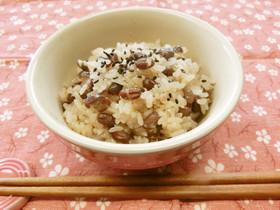 土鍋炊き♪お赤飯